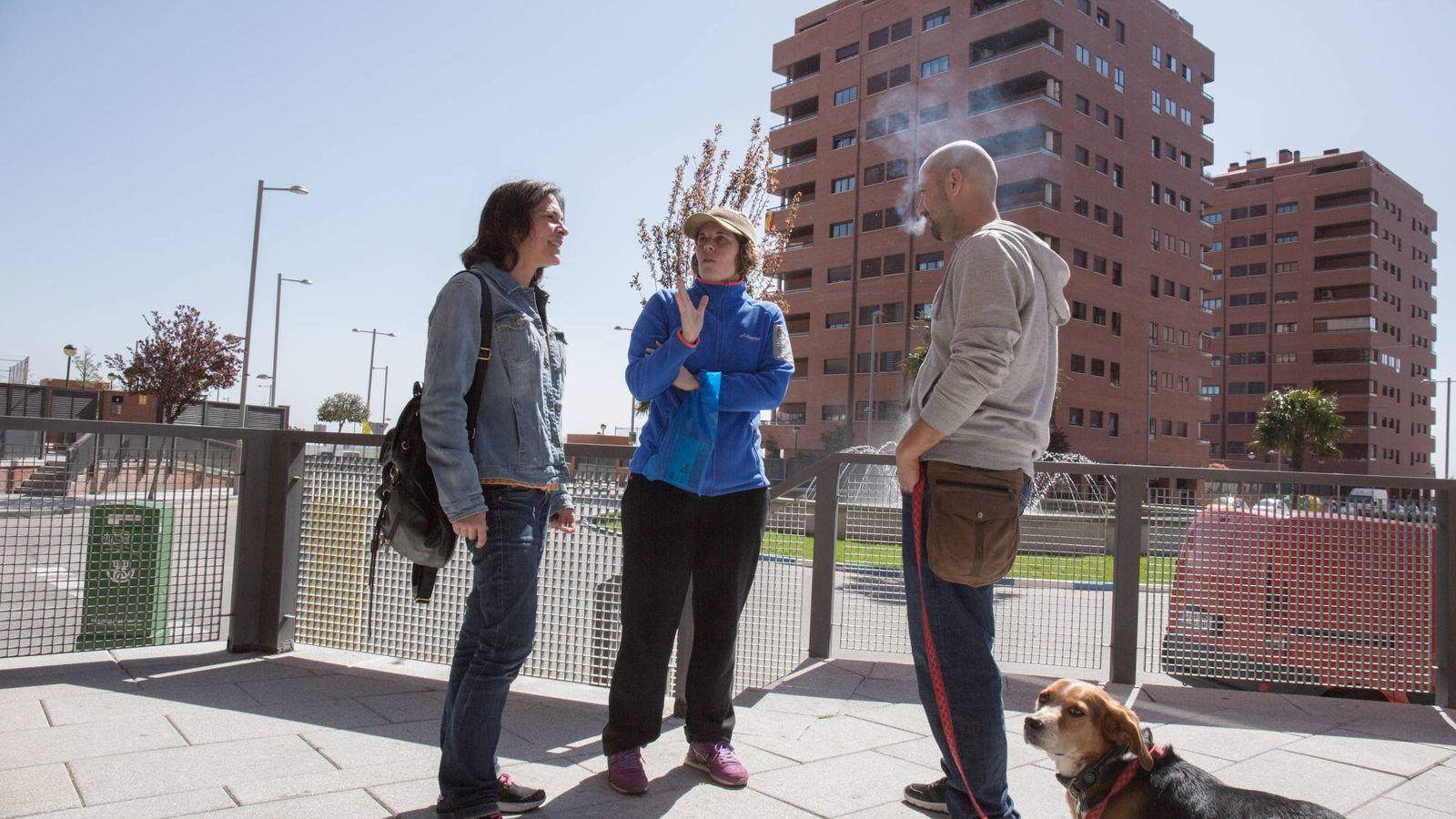 Foto: El Quiñón, la 'ciudad fantasma' del Pocero, tiene ya unos 11.000 habitantes. (D.B.)