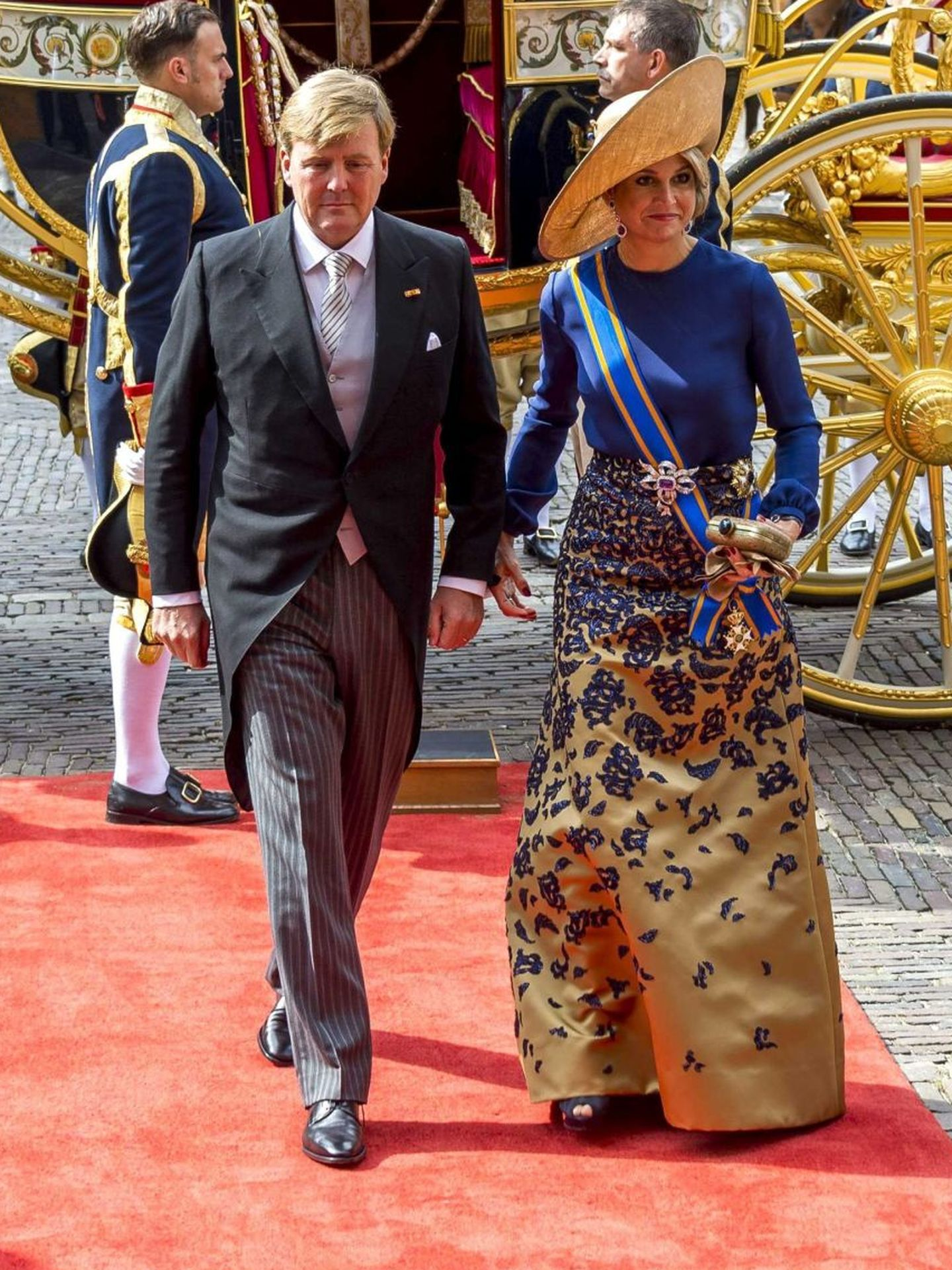 Los reyes de Holanda, en el Prinsjesdag 2016. (EFE)