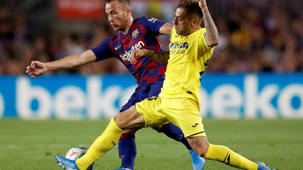 El lío del lesionado Arthur con el snowboard en el FC Barcelona