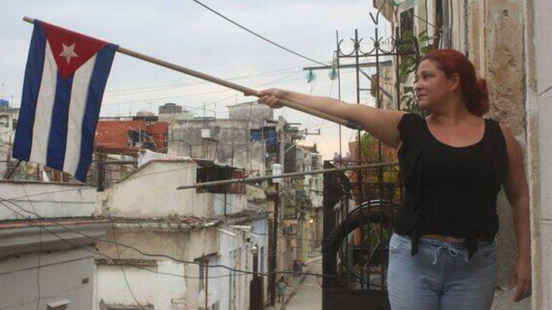 La actriz y fundadora del Movimiento San Isidro, Iris Ruiz. (MSI)