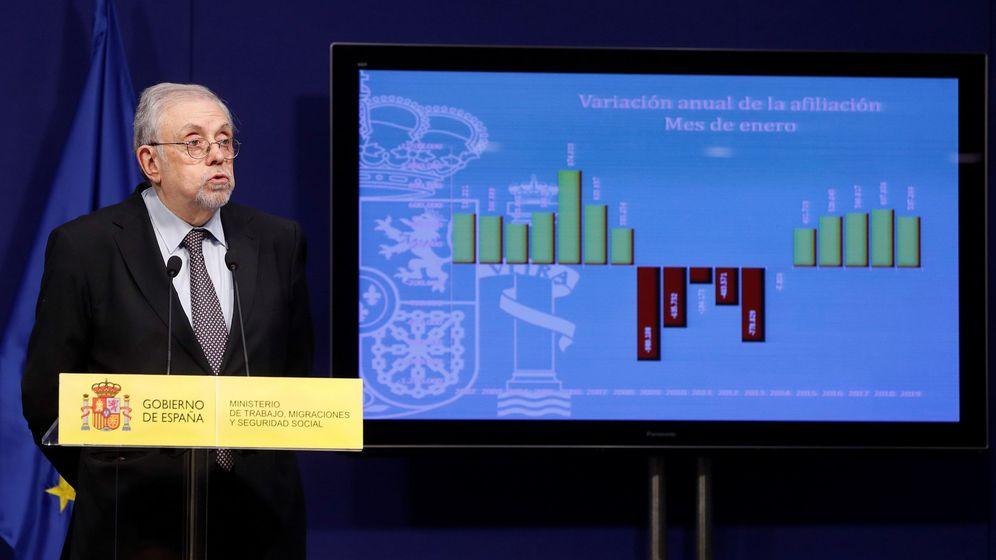 Foto: Octavio Granado, secretario de la seguridad social (Efe)