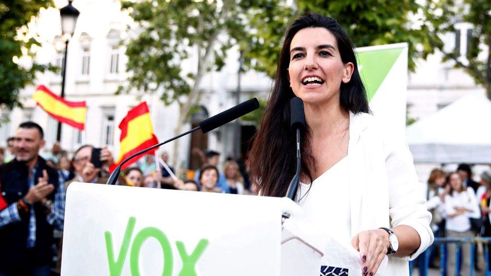 Foto: La candidata de Vox a la Presidencia de la Comunidad de Madrid, Rocío Monasterio (Efe)