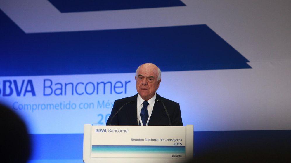 Foto: El presidente de BBVA, Francisco González. (EFE)