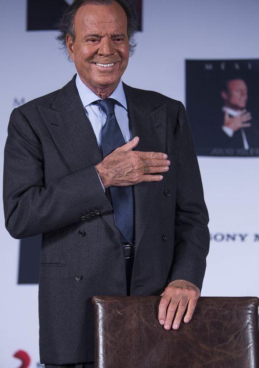 Julio Iglesias en México (Gtres)