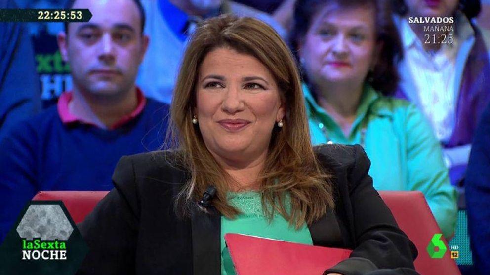 María Claver, sobre su papel en la manifestación de Colón: Es un honor