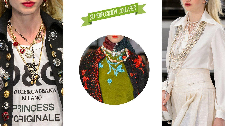Pasarela de Dolce & Gabbana. Detalle de pasarela de Prada. Desfile de Chanel.