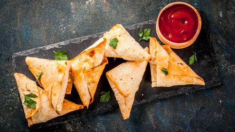 Las samosas, un plato hindú que encanta en Occidente