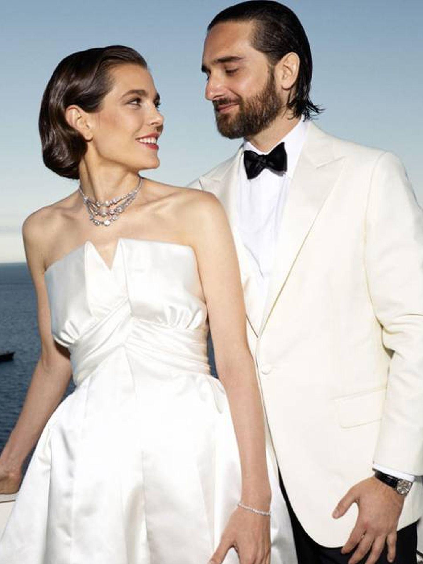 Carlota y Dimitri. (Foto oficial del Palais Princier de Monaco/Félix Dol-Maillot)