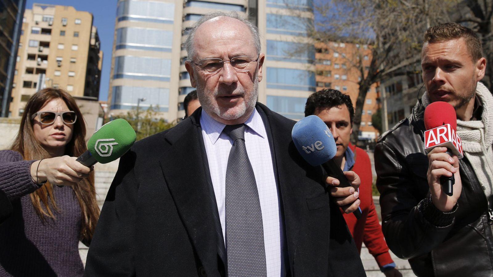 Foto: El exvicepresidente del Gobierno, expresidente del FMI y de Bankia, Rodrigo Rato. (EFE)