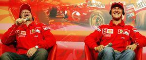 Foto: La cara más horrenda de Michael Schumacher