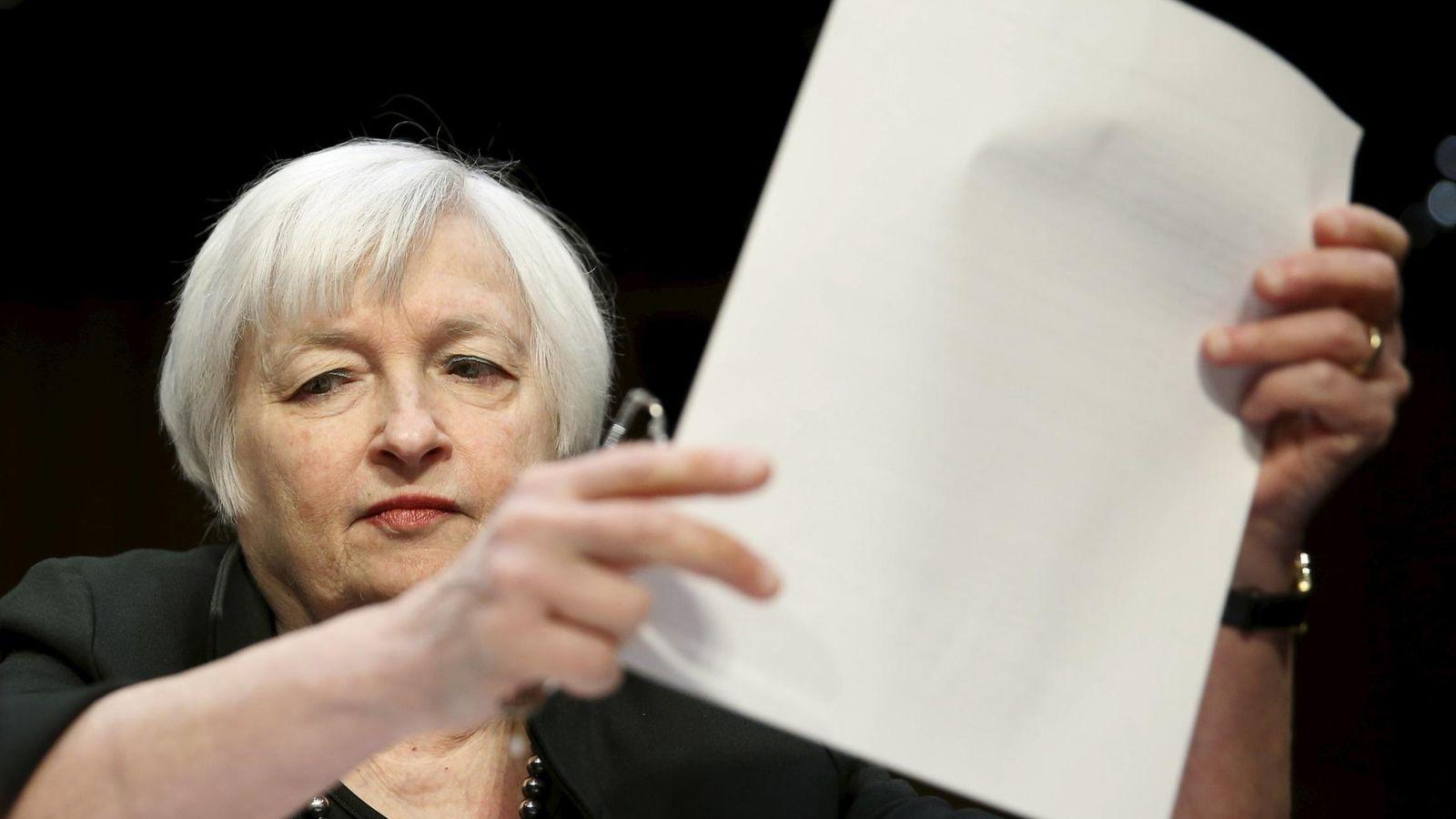 Foto: La presidenta de la FED, Janet Yellen. (Reuters)