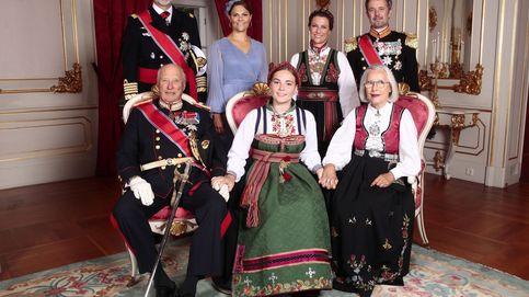 Ingrid Alexandra se confirma: trajes tradicionales, sonrisas y solemnidad