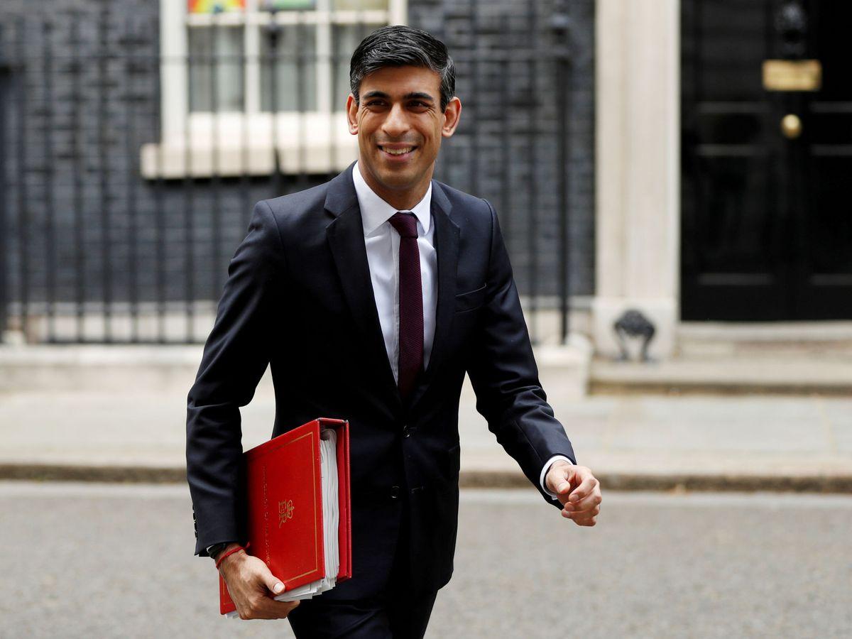 Foto: El ministro de Finanzas y responsable de Hacienda de Reino Unido, Rishi Sunak. (Reuters)