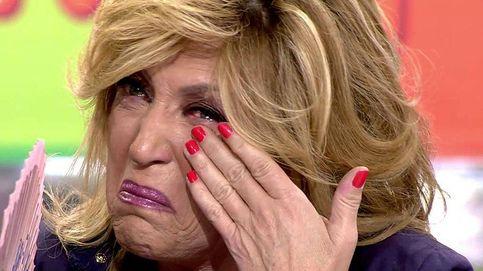 Lydia Lozano rompe a llorar en 'Sálvame' tras ser traicionada en directo
