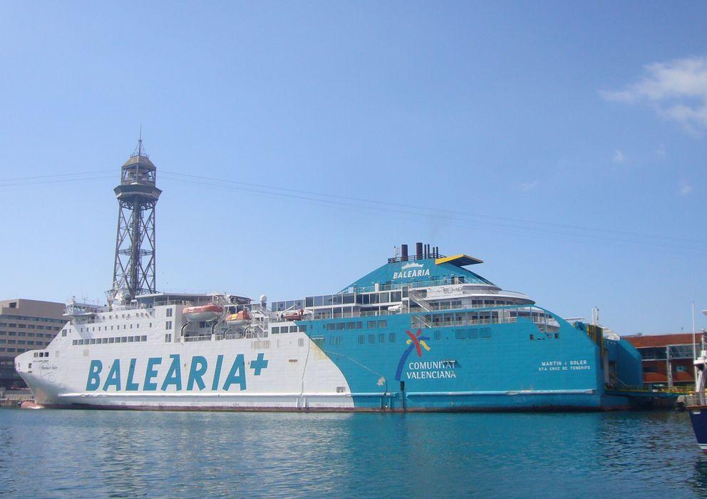 Foto: El buque Ferry Martin i Soler, fabricado por Hijos de H.J. Barreras. (http://commons.wikimedia.org/)