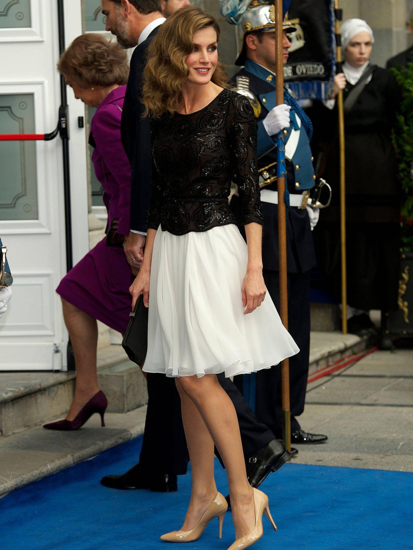 Letizia, en los Premios Princesa de Asturias 2012. (LP)
