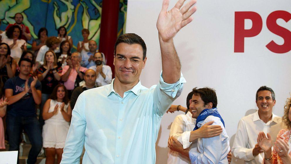 Sánchez coge impulso pero cae al tercer puesto como político mejor valorado