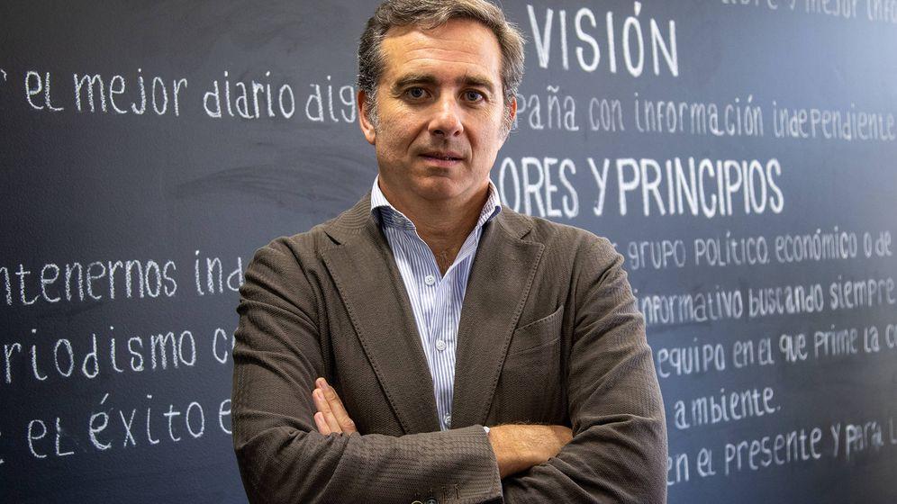 Foto: Javier Valle, director general de Juul en España. (Ernesto Torrico)
