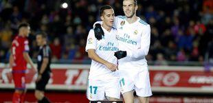 Post de Lucas Vázquez es el único del Madrid que se toma en serio la Copa del Rey