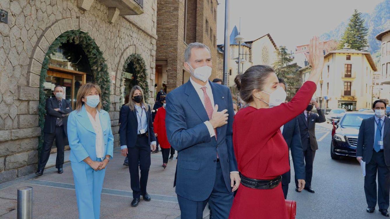 El viaje de Estado de Felipe y Letizia a Andorra: todas las imágenes
