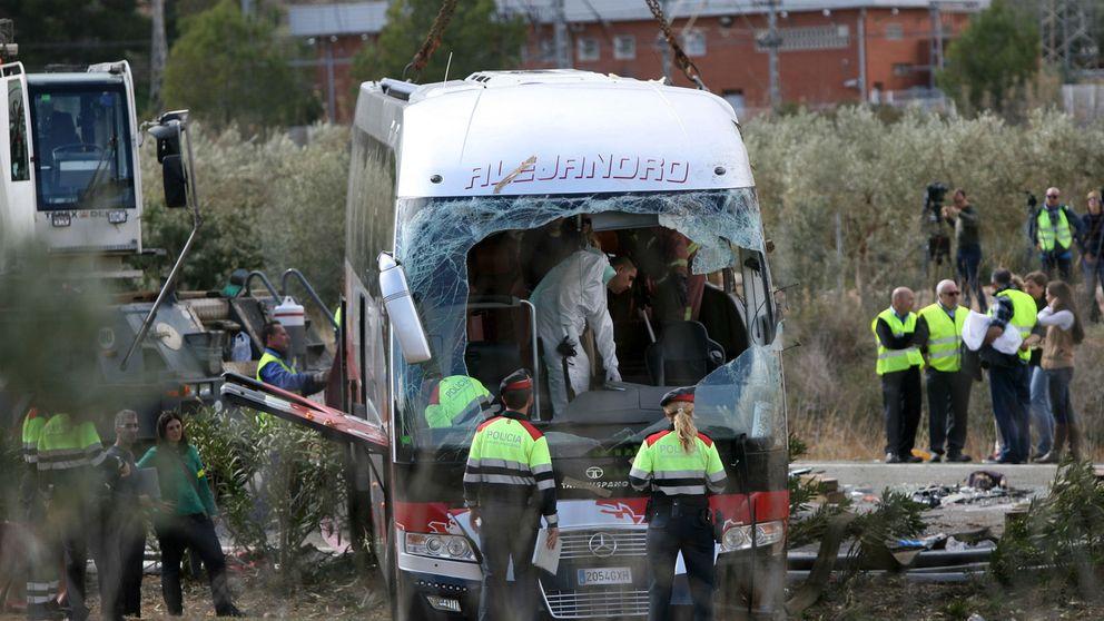 Accidente mortal de autobús en Tarragona