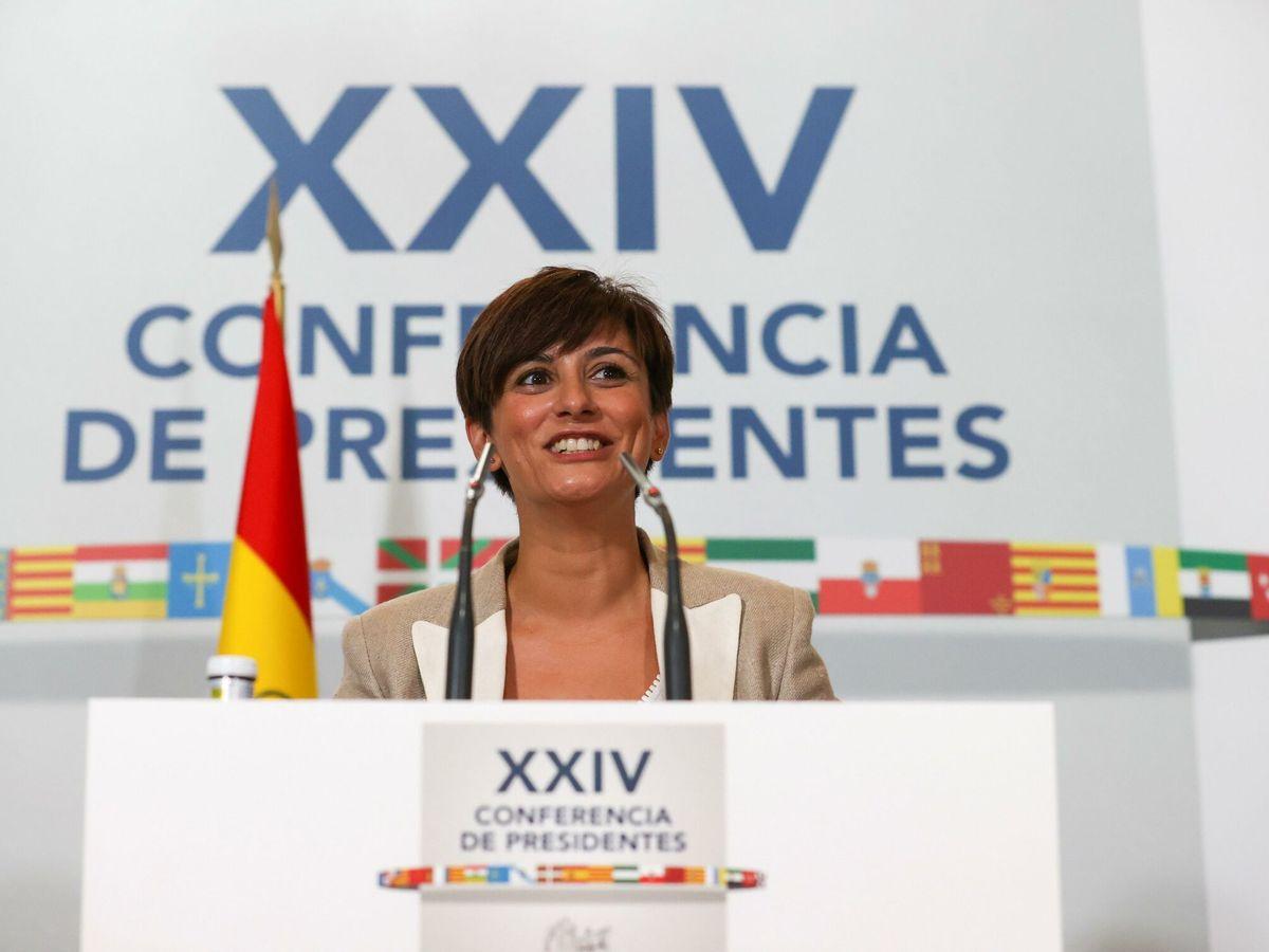 Foto: La ministra de Política Territorial y portavoz del Gobierno, Isabel Rodríguez. (EFE)