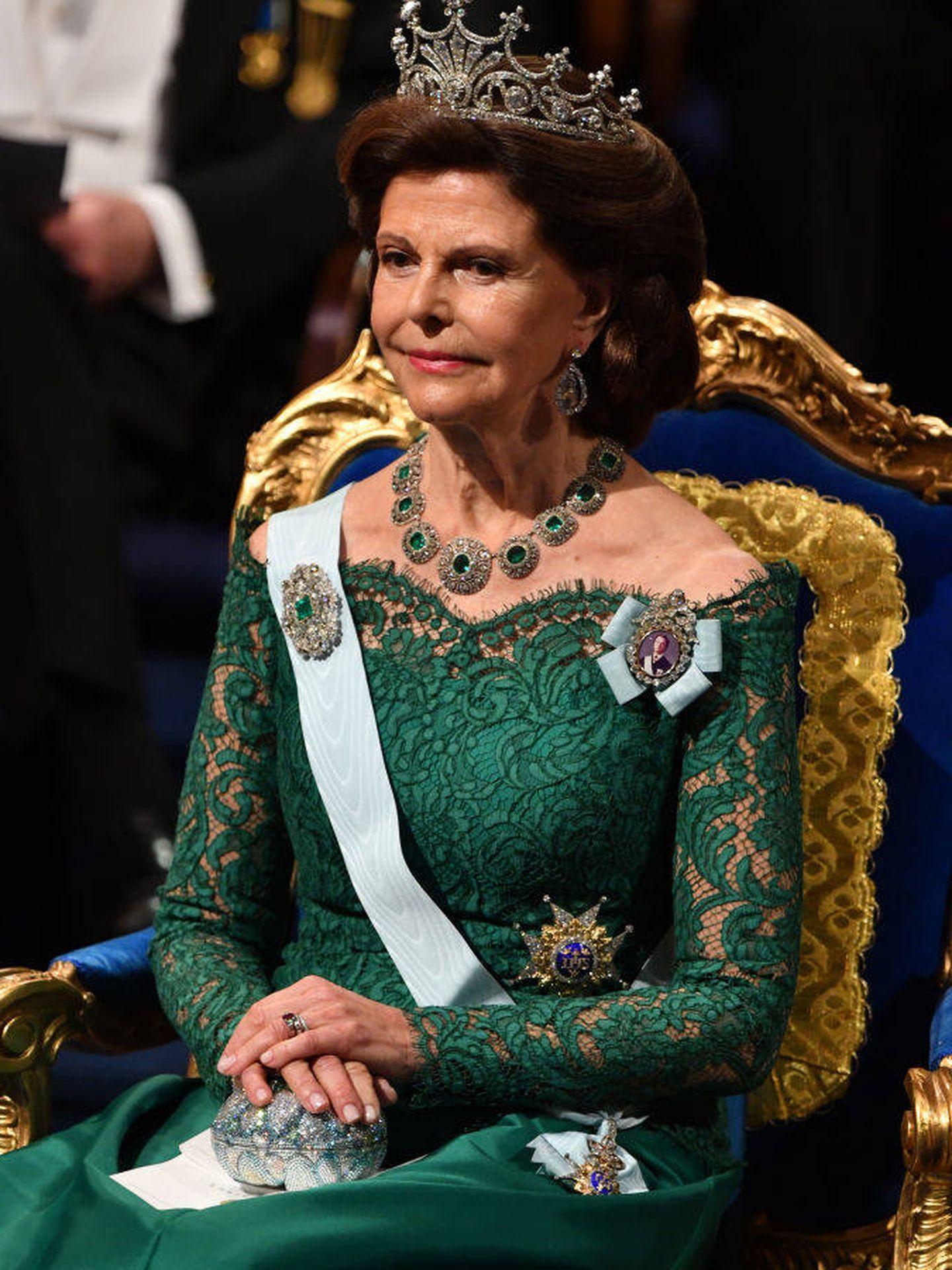 La reina Silvia. (Getty)