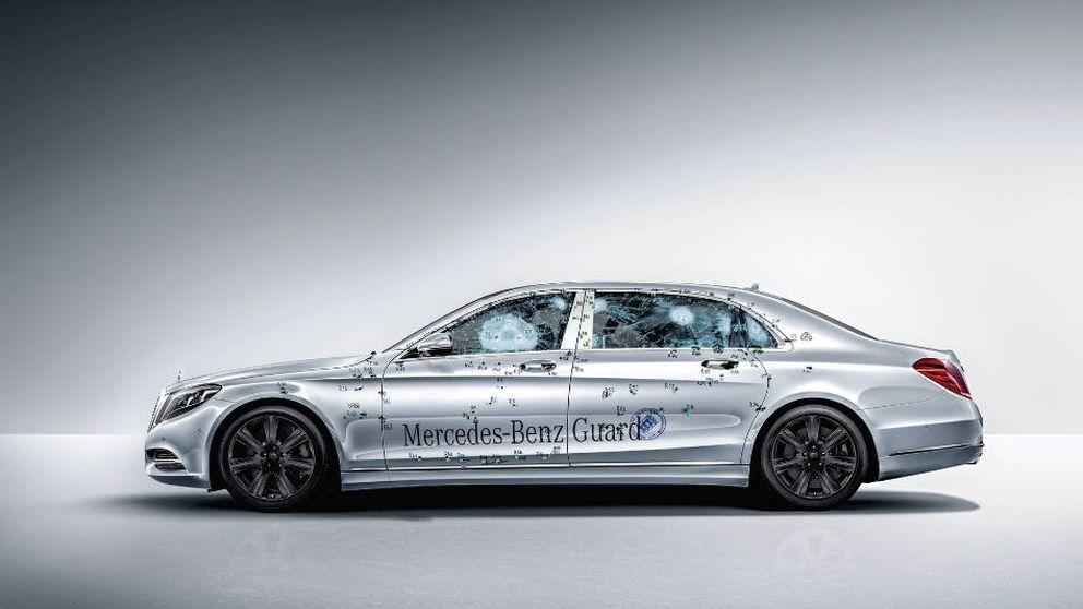 Hacienda compra el nuevo blindado de Casa Real: un Mercedes vip de 550.000 €