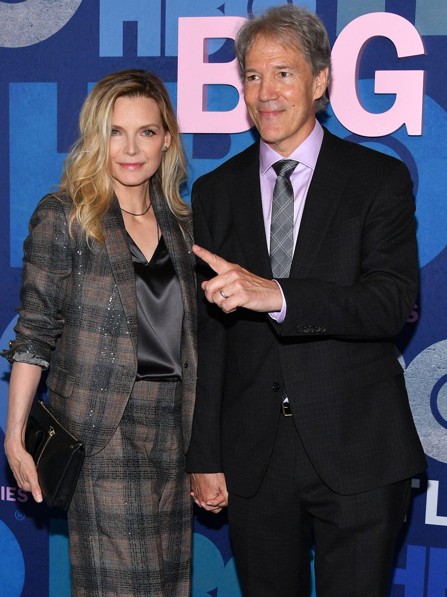 Michelle Pfeiffer, la mejor vestida de la noche. (Getty)