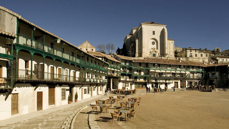 La Plaza Mayor de Chinchón. (Foto: Turismo Madrid)