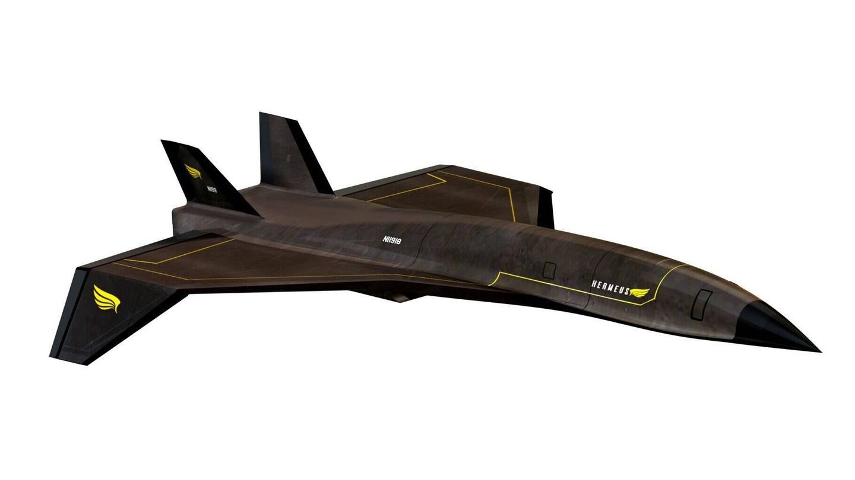 Hermeus se compromete a entregar tres de estos aviones al Ejército americano. (Hermeus)