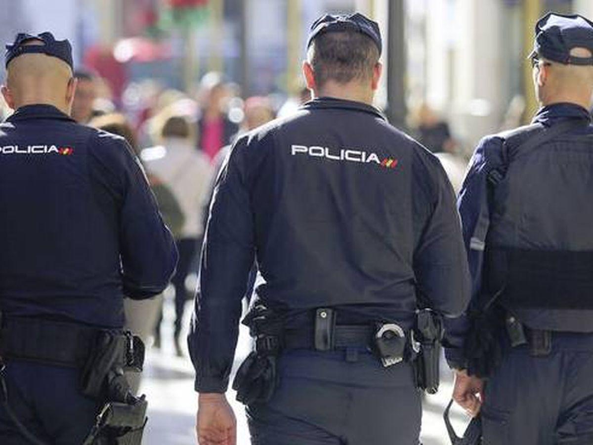 Foto: Agentes de la Policía Nacional. Foto: Policía Nacional