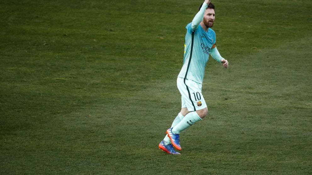 El Barcelona no juega bien, pero ya vendrá Messi para arreglarlo