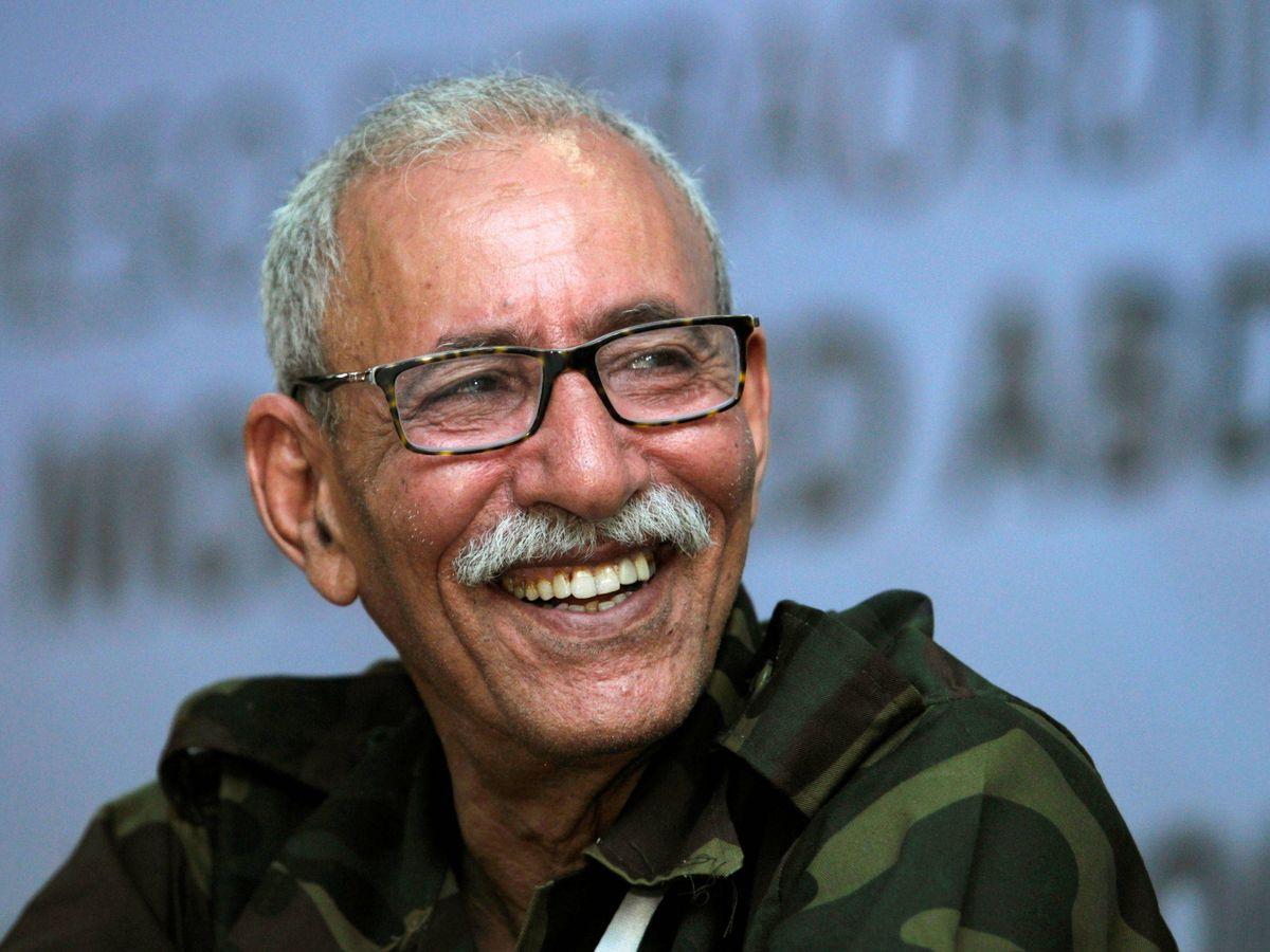 Foto: El líder del Polisario, Brahim Ghali. (Reuters)