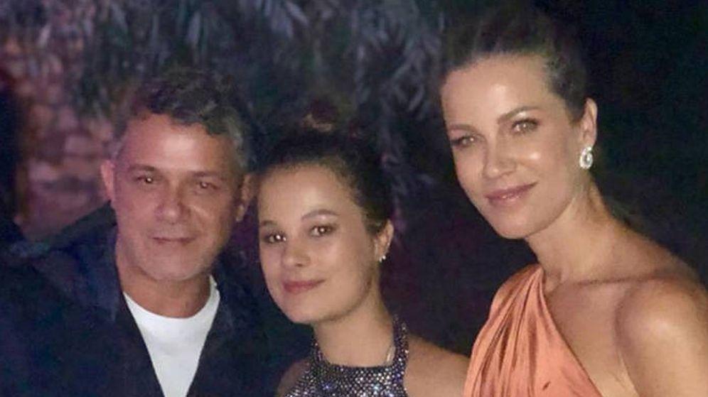 Foto: Alejandro Sanz y Jaydy Michel con Manuela en su fiesta de cumpleaños el pasado mes. (@Jaydymichel)