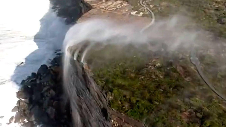 Cataratas 'del revés' en Australia: otra sorpresa de la naturaleza (y su explicación)