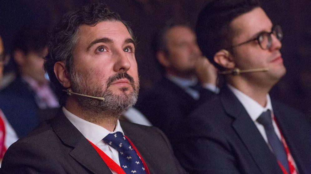 Foto: Iván Martín, Magallanes Value Investors, durante una de las ponencias del III Iberian Value.