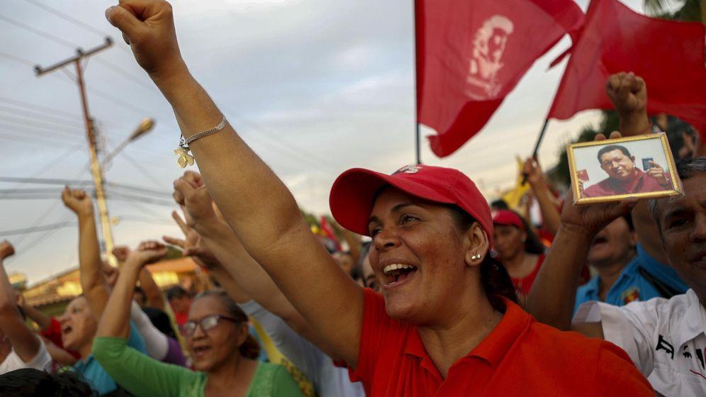 Foto: Manifestación por Hugo Chávez (Reuters)