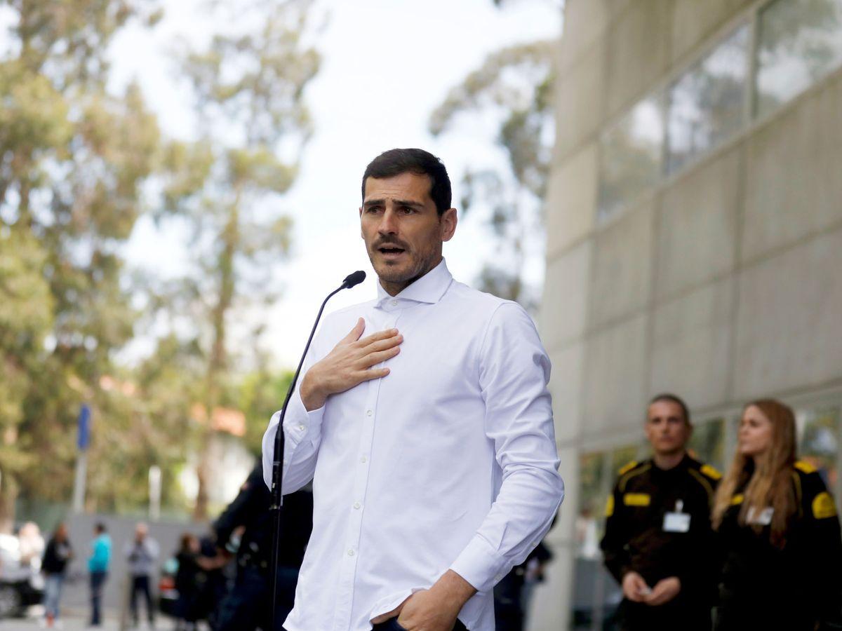 Foto: Iker Casillas, en una imagen de archivo. (Reuters)