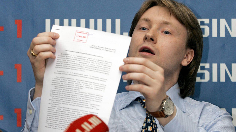 Nikolai Alekseyev durante una rueda de prensa en Moscú, en mayo de 2006. (Reuters)