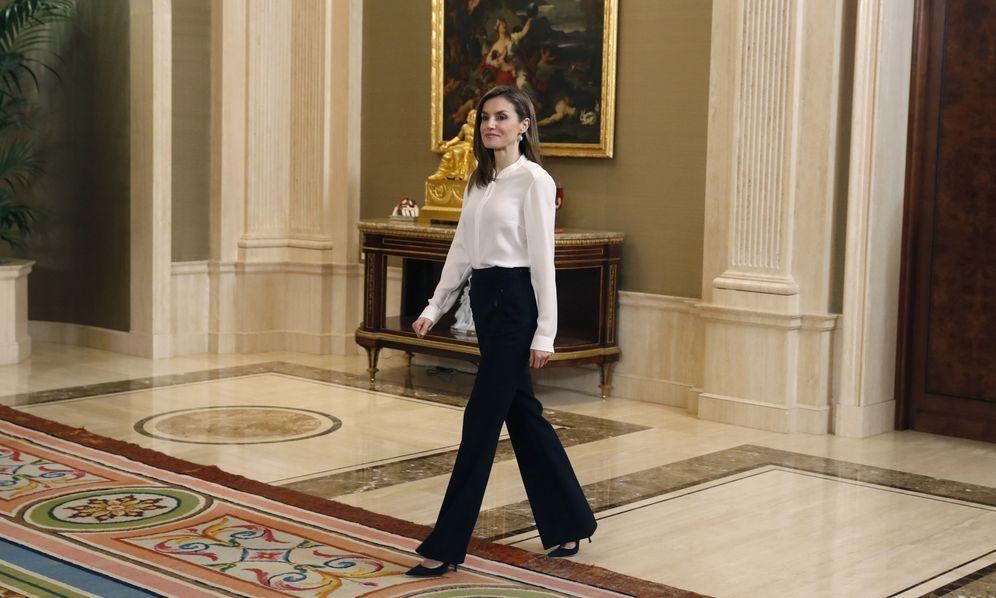 Foto: La Reina recibe dos audiencias en el palacio de la Zarzuela