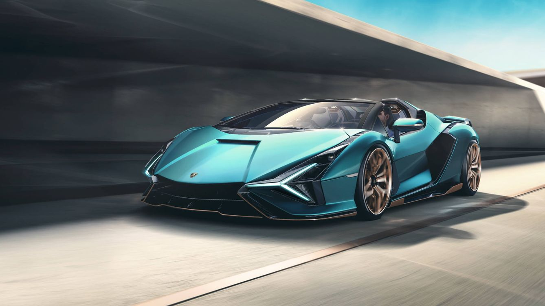 Lamborghini Sián Roadster, el descapotable electrificado más potente de la marca