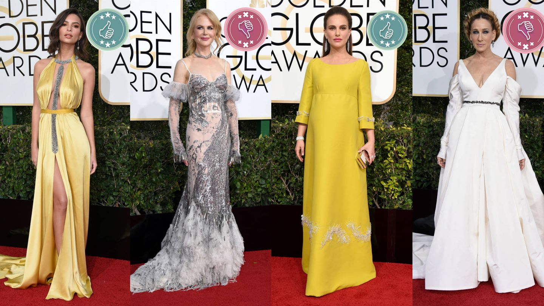 Vea aquí: Las mejor y peor vestidas de los Globos de Oro 2017