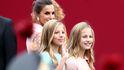 ¿Quién viste a la princesa Leonor y la infanta Sofía? Su ropa, un secreto de Estado