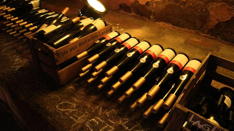 Das Steichele, una cava de vino que fue refugio durante la guerra. (Foto: Clemente Corona)