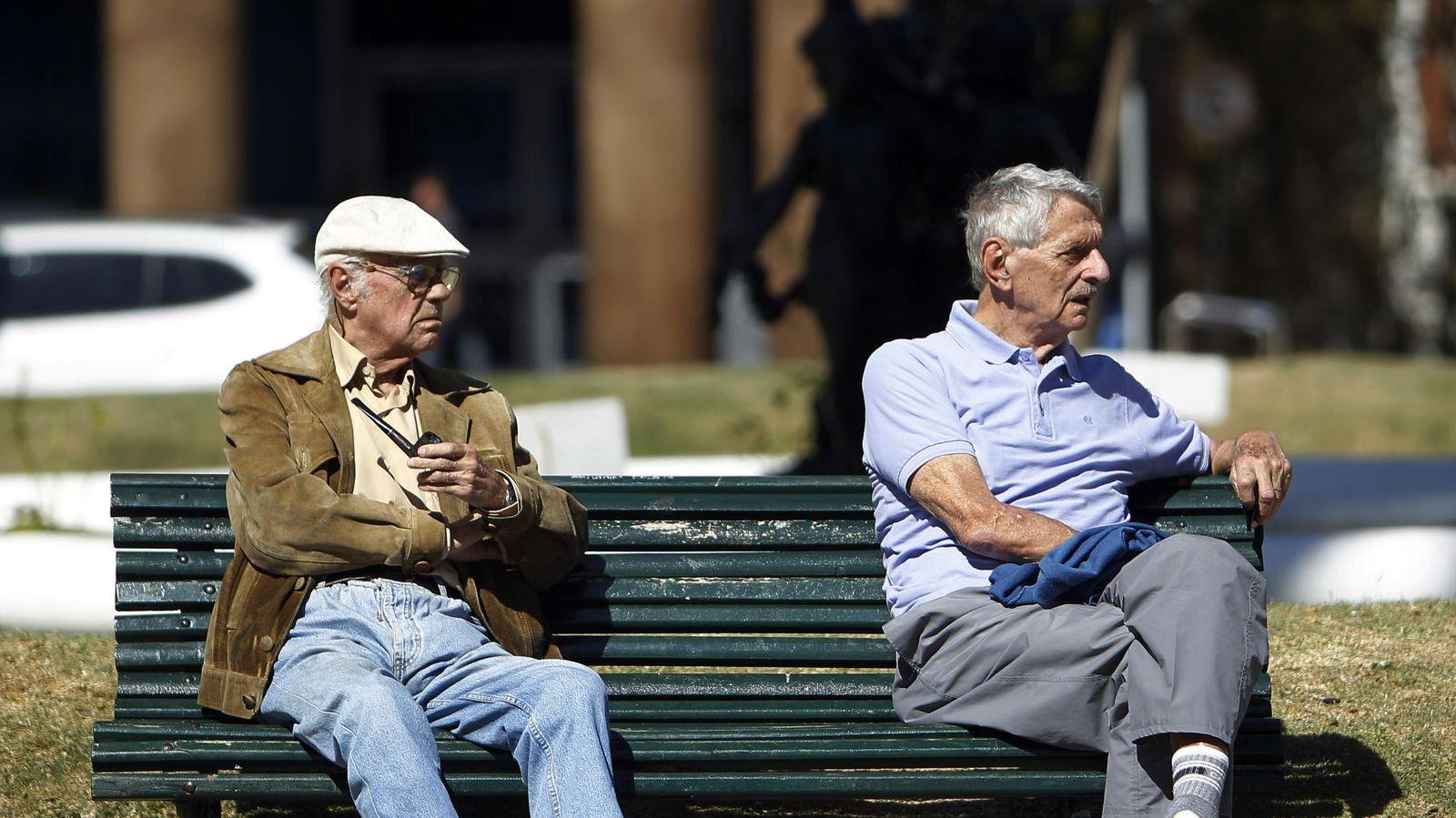 Foto: España envejece. (EFE)