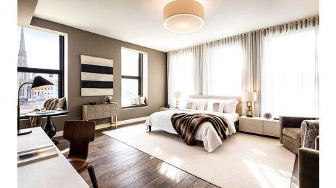 De Leonardo Di Caprio a Kate Moss: los dormitorios de las estrellas