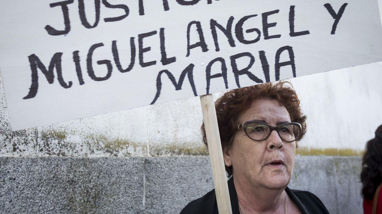 María Espinosa, madre y abuela de las víctimas del doble crimen de Almonte (Huelva). (EFE)