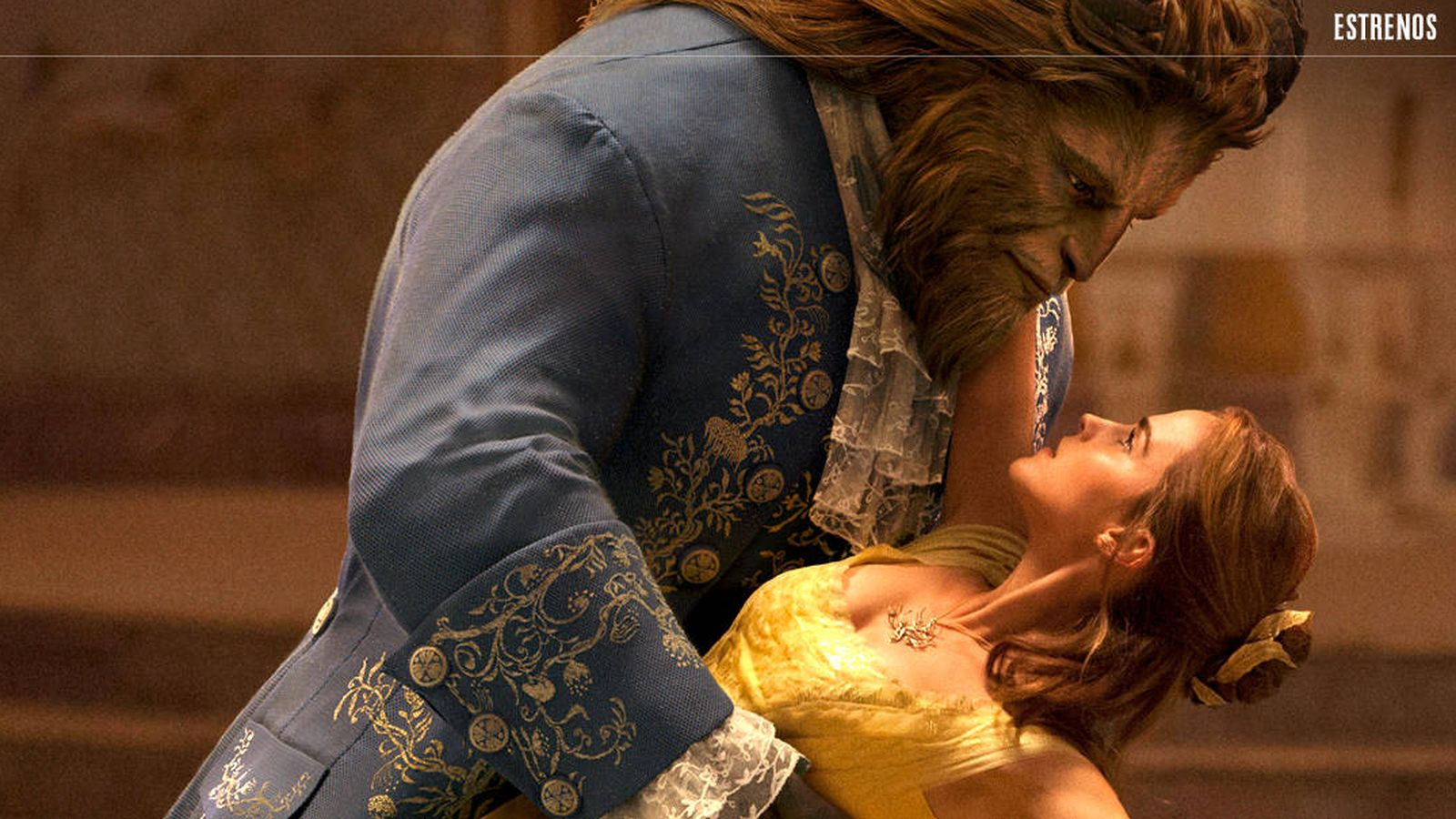 Foto: Emma Watson y Dan Stevens protagonizan 'La Bella y la Bestia'. (The Walt Disney Company)