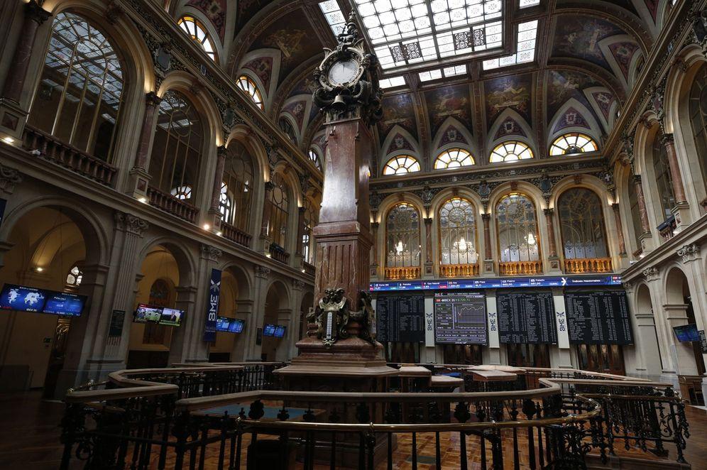 Foto: Parqué de la Bolsa española. (EFE)
